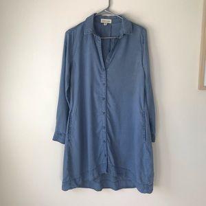 XS Cloth & Stone Anthropologie Denim Dress